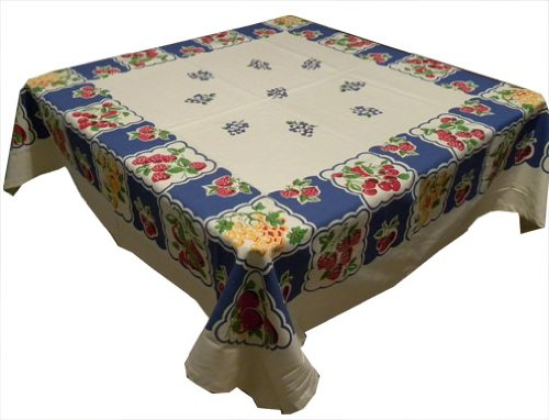Mixed Berries Vintage Reproduction Tablecloth
