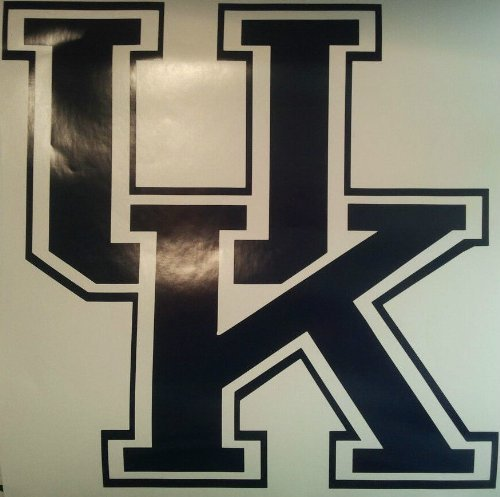 University of Kentucky Cornhole Decals - 2 Cornhole Decals by The Cornhole King by The Cornhole King