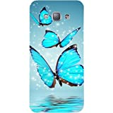 Casotec Flying Butterflies Design Hard Back Case Cover for Samsung Galaxy A8