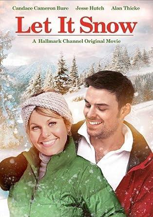 Christmas Under Wraps Cast.Amazon Com Let It Snow Candace Bure Jesse Hutch Alan