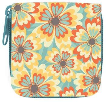 Wellspring Lentilles de contact Case w / Bouteille et de stockage Miroir Chic Floral Urban Bliss
