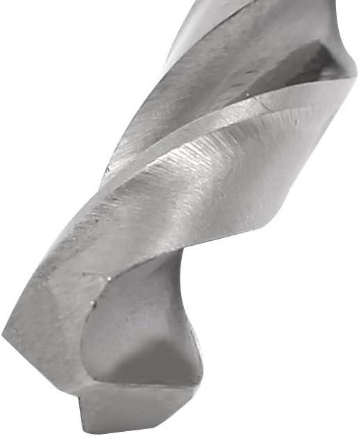 200 mm lunga diritta HSS codolo rotondo spirale punta da trapano utensile di foratura 2pz. sourcingmap 4,5 mm diam