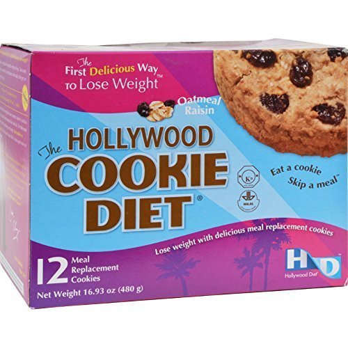 Hollywood Diet Cookie Diet Oatmeal Rsn Box by Hollywood Miracle Diet