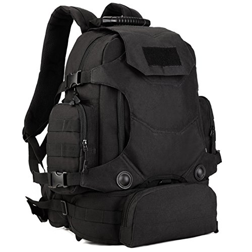 DYJ Outdoor 40L Military MOLLE Rucksacks Gear Tactical Backpack Assault Pack Combat Backpack Trekking Bag