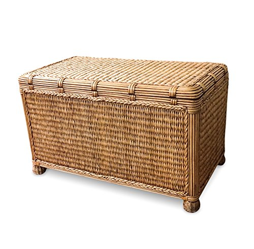 Wicker Paradise BL210 Key West Miramar Natural Fibers Trunk