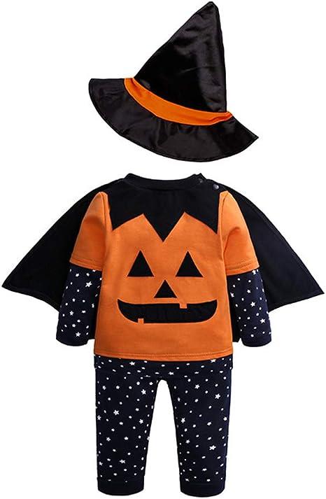 FENICAL niños Ropa de Halloween Disfraz Calabaza Creativa ...