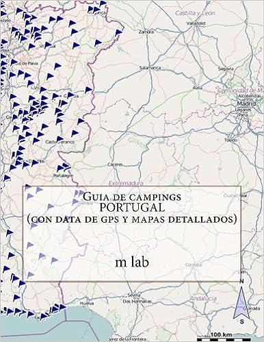 Guia De Campings Portugal Con Data De Gps Y Mapas Detallados