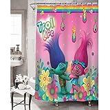 Trolls Hugfest Shower Curtain