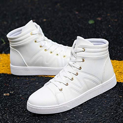 5 A Alto Collo Bianco Uomo White Scennek 39 EU nxH06P