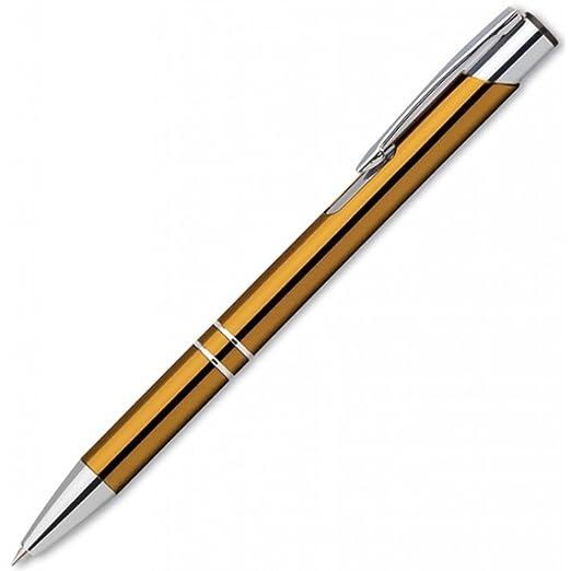 Kugelschreiber Gold Geburstet Mit Gravur Geschenk