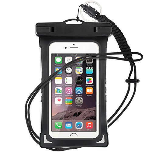(Waterproof Case, 3 Pack Universal Cell Phone Dry Bag Floating Pouch for iPhone 8, 7 Plus, 6s, 6s Plus, 5s, se, Galaxy S8 S7 Edge, Note 4 3, LG G6 G5 G4, HTC One X , Smartphone Devices Up To 6.0)
