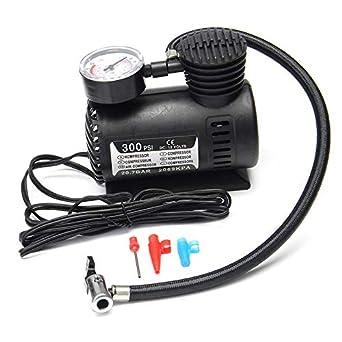 Amazon.com: Portable Mini Air Compressor Vehicle Electric Tire Inflator Pump 12V 300 PSI: Industrial & Scientific
