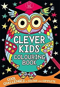 clever kids colouring book - Kids Colouring Books