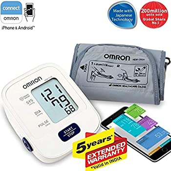 Omron HEM 7120 Upper Arm Automatic Blood Pressure Home B P Monitor Bp Machine Hem 7120