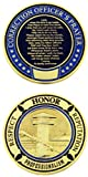 Correction Officer Prayer Challenge Coin - Pack of 12 Coins