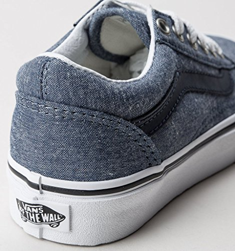 Vans Zapatillas de Lona Para Niño Azul Chambray Blue
