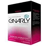 Gnarly Hydrate Electrolyte Powder with Trace Minerals | All Natural Workout Supplement (Raspberry)