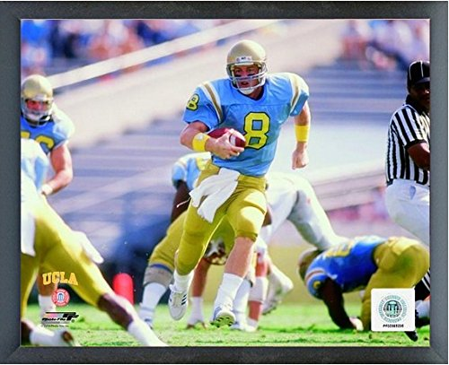 Bruins Framed Ucla - Troy Aikman UCLA Bruins NCAA Football Action Photo (Size: 12