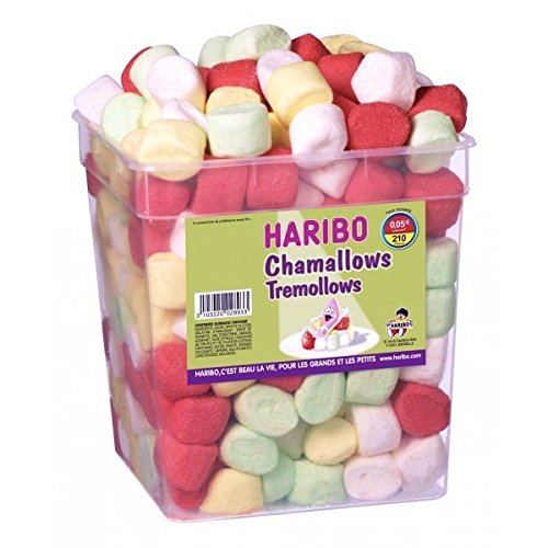 Haribo Tremollows Marshmallows Big Box 210 Stck.