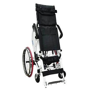 Amazon.com: Leo II - Silla de ruedas (aluminio, aleación de ...