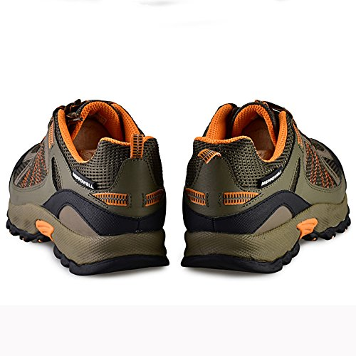 SADDY Herrenmode Venture Trail Laufschuhe Orange
