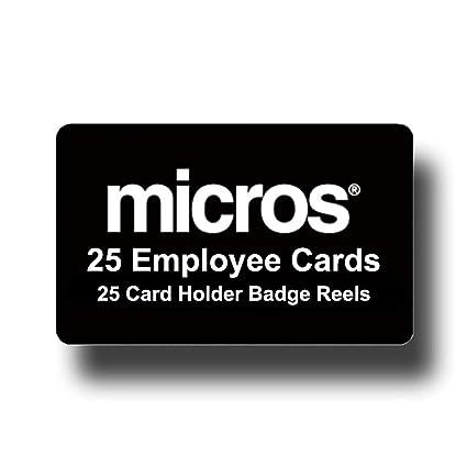 25 tarjetas de regalo de Micros negras + 25 carretes blancos ...