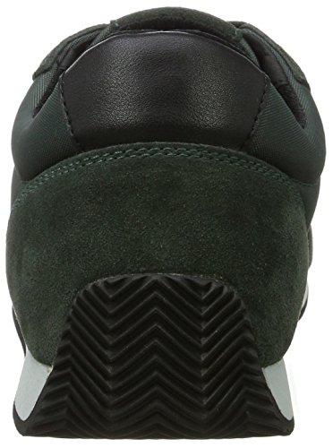 Geox U Vinto C, Zapatillas para Hombre Verde (Dk Forest/black)