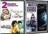 Fantasy romance + Drama Lake House/P.S. I Love You & Gravity (Sandra Bullock/George Clooney) + Our Brand Crisis DVD Bundle 4 Movies