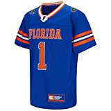Colosseum Youth NCAA-Youth Hail Mary II Football Jersey-Florida Gators-Royal-Youth Small
