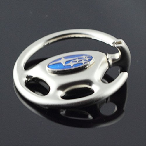 Dreamtao The Shape of The Steering Wheel Car Key Chain Car Logo Key Chains Gift Crafts