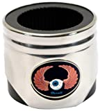 Motorhead Products Stainless Steel Piston Shaped Coozie, Hot Rod Kar Kulture Thrall Airborne Eye Logo