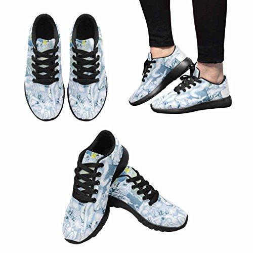 Scarpa Da Jogging Leggera Da Donna Running Running Leggera Easy Go Walking Comfort Sport Scarpe Da Corsa Winter Landscape Multi 1