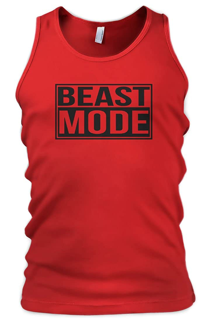Beast Mode Mens Vest Tank Top - Gift For Husband - Gift For Boyfriend