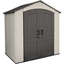 Lifetime 60057 Outdoor Storage Shed, 7 Feet by 4.5 Feet