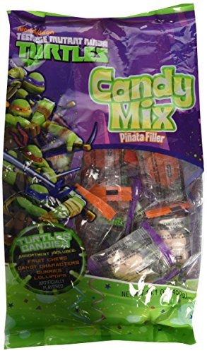 Teenage Mutant Ninja Turtles Candy Mix Pinata Filler With Fruit Chews, Candy Characters, Gummies, And Lollipops! for $<!--$19.99-->