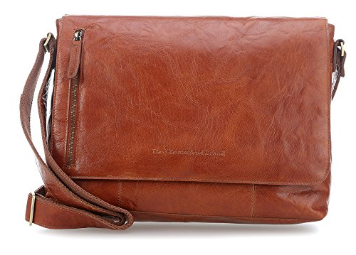 Maha 4 15 cognac Bag Chesterfield Laptop Messenger The Brand 0wTEqnR