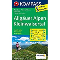 Allgäuer Alpen - Kleinwalsertal: Wanderkarte mit Aktiv Guide, Panorama, Radrouten und Skitouren. GPS-genau. 1:50000: Wandelkaart 1:50 000 (KOMPASS-Wanderkarten, Band 3)