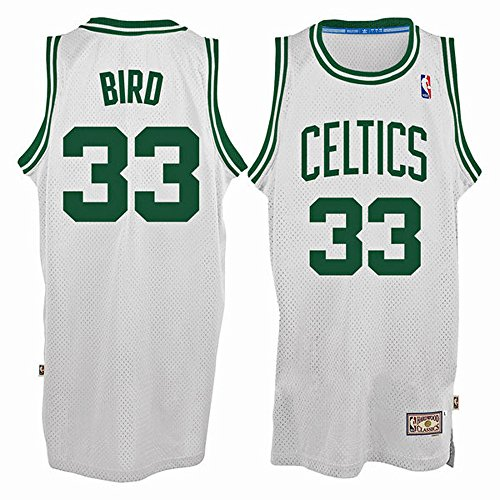 33 Larry Bird Boston Celtics Mens Road Swingman Jersey White color Size (33 Boston Celtics Jersey)