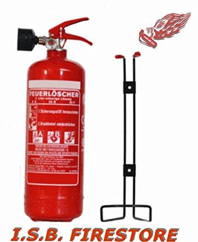 2 L Fettbrand Dauerdruck Feuerlöscher EN 3 - von ISB Firestore