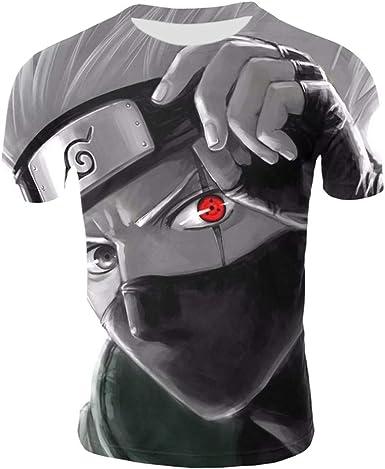 Lonimor Camiseta De Manga Corta algodón con Cuello Redondo De ...
