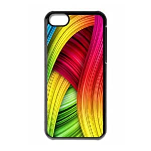 IPhone 5C Case Colourful 3 for Girls, Iphone 5c Case for Boys Jackalondon, {Black}