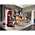 DeLonghi-EC685R-CappuccinoMacchina-per-caff-Espresso-Manuale-1350-W-1-Liter-Plastica-Acciaio-Inossidabile-Rosso