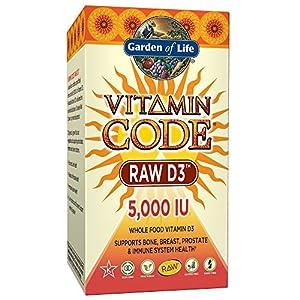 Garden of Life Vitamin Code Raw D3 5000 IU