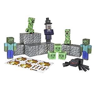 Minecraft - Paquete Hostile Mobs, 30 Piezas (Giochi