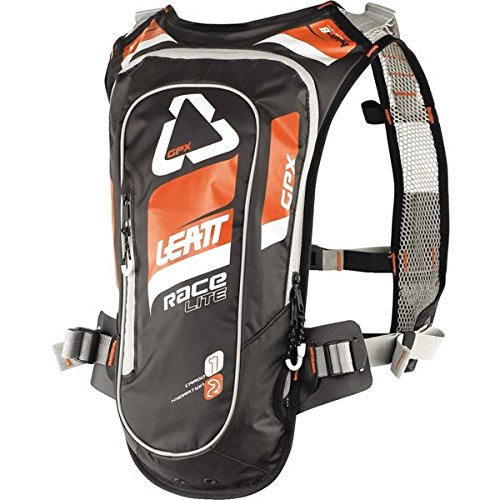 Leatt GPX 2.0 Race HF Hydration Pack-Orange/Black by Leatt Brace