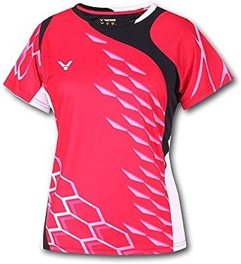 VICTOR 629/9/6 - Camiseta / Camisa deportivas para mujer: Amazon.es: Ropa y accesorios