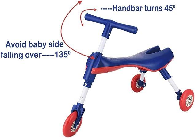 YGJT Bicicleta sin Pedales Bebé Juguetes Bebes 1-3 años 10 Meses a 36 Meses Regalo Elección (Azul): Amazon.es: Juguetes y juegos