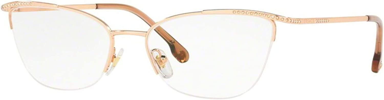 Versace VE1261B Eyeglass Frames 1412-54 Rose VE1261B-1412-54
