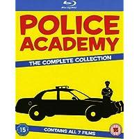 Police Academy Complete Collection (7 Blu-Ray) [Edizione: Regno Unito] [Reino Unido] [Blu-ray]