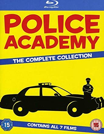 Police Academy 1-7-The Complete Collection Blu-ray Import